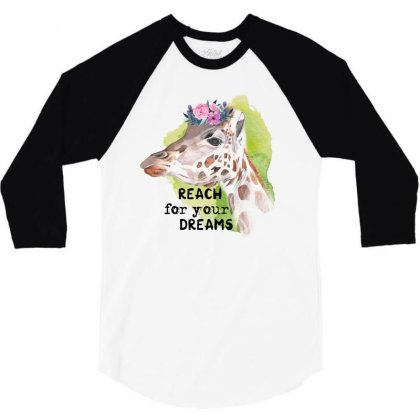 Reach For You Dreams 3/4 Sleeve Shirt Designed By