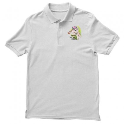 Reach For You Dreams Polo Shirt Designed By