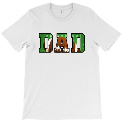 Dad American Football T-shirt Designed By