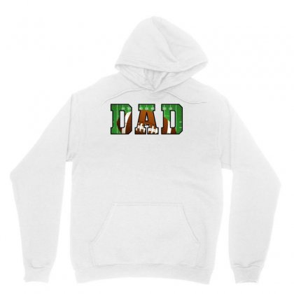 Dad American Football Unisex Hoodie Designed By