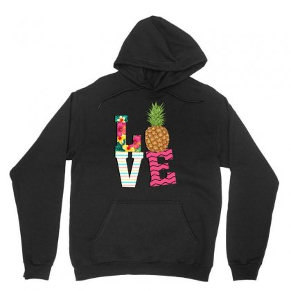 Love Pineapple Unisex Hoodie Designed By
