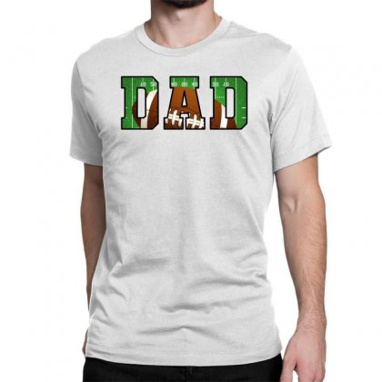 Dad American Football Classic T-shirt Designed By