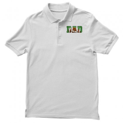 Dad American Football Polo Shirt Designed By