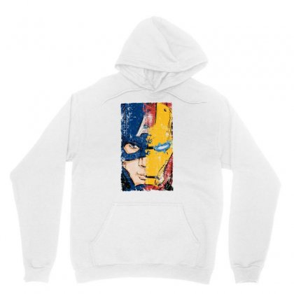 Captain America And Iron Man Unisex Hoodie Designed By