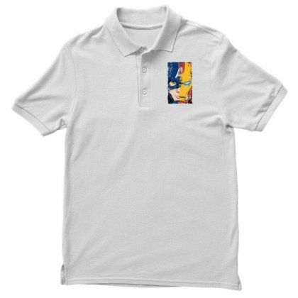 Captain America And Iron Man Polo Shirt Designed By