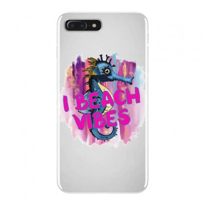 I Beach Vibes Seahorse Iphone 7 Plus Case Designed By