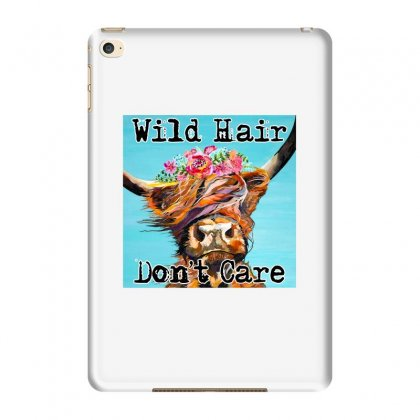 Wild Hair Don't Care Ipad Mini 4 Case Designed By