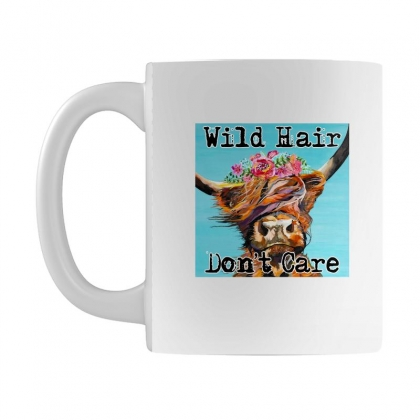 Wild Hair Don't Care Mug Designed By