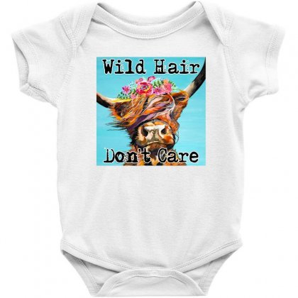 Wild Hair Don't Care Baby Bodysuit Designed By