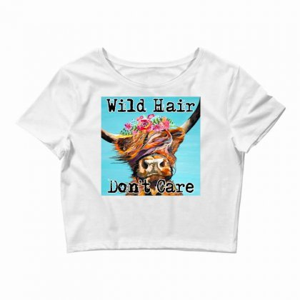 Wild Hair Don't Care Crop Top Designed By