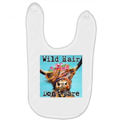 Wild Hair Don't Care Baby Bibs Designed By