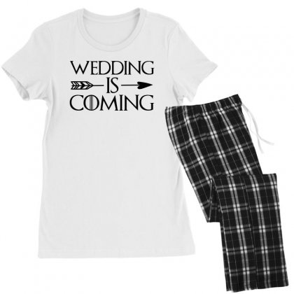 Wedding Is Coming For Light Women's Pajamas Set Designed By