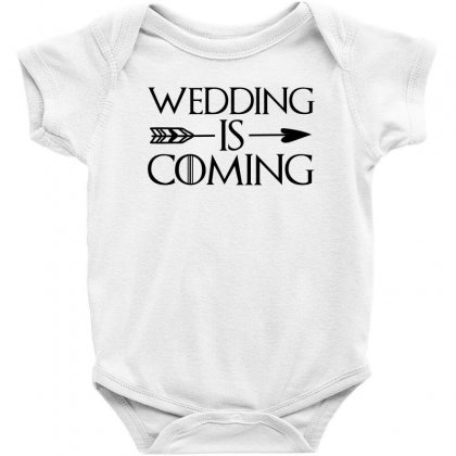 Wedding Is Coming For Light Baby Bodysuit Designed By