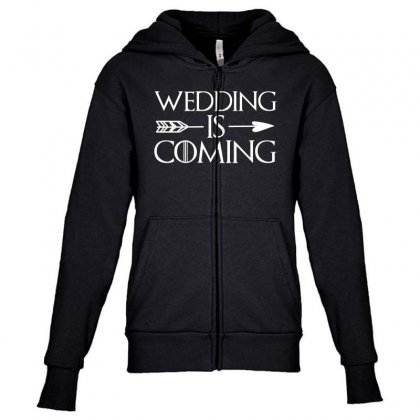 Wedding Is Coming For Dark Youth Zipper Hoodie Designed By