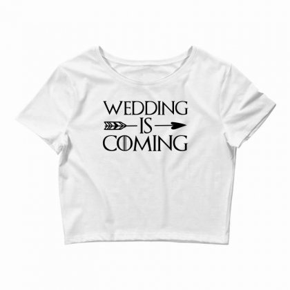 Wedding Is Coming For Light Crop Top Designed By