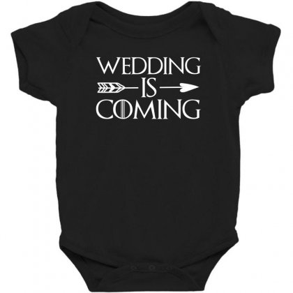 Wedding Is Coming For Dark Baby Bodysuit Designed By