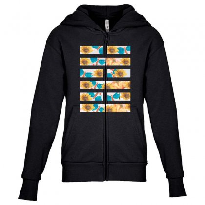 Arashikage Floral Youth Zipper Hoodie Designed By