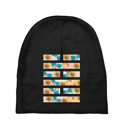Arashikage Floral Baby Beanies Designed By
