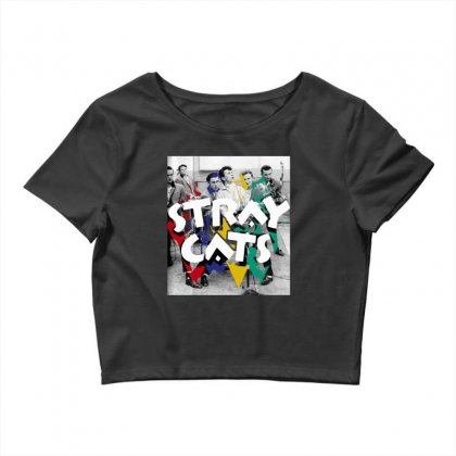Stray Cats Crop Top Designed By Sengul