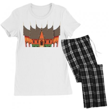 Gadang Minangkabau People Women's Pajamas Set Designed By Salmanaz