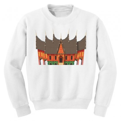 Gadang Minangkabau People Youth Sweatshirt Designed By Salmanaz