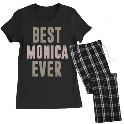 Is Your Name, Monica? This Shirt Is For You! Women's Pajamas Set Designed By