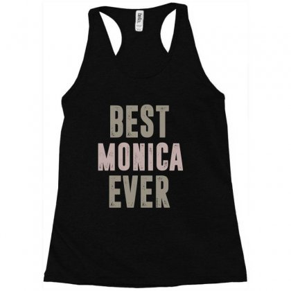 Is Your Name, Monica? This Shirt Is For You! Racerback Tank Designed By