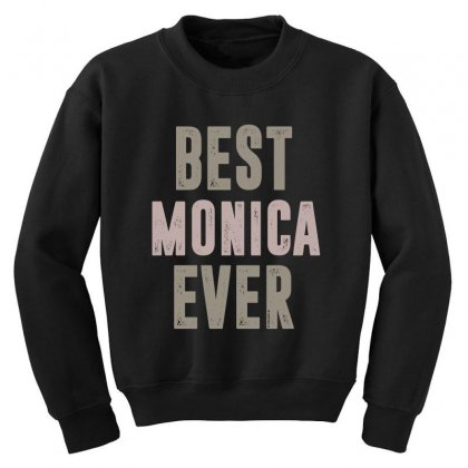 Is Your Name, Monica? This Shirt Is For You! Youth Sweatshirt Designed By