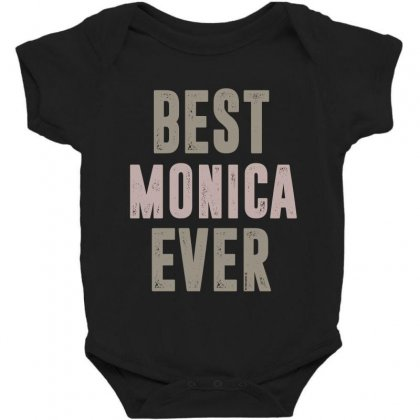Is Your Name, Monica? This Shirt Is For You! Baby Bodysuit Designed By