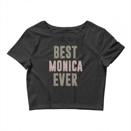 Is Your Name, Monica? This Shirt Is For You! Crop Top Designed By