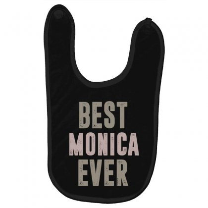 Is Your Name, Monica? This Shirt Is For You! Baby Bibs Designed By