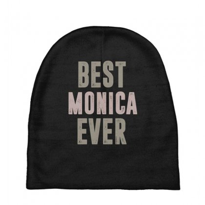 Is Your Name, Monica? This Shirt Is For You! Baby Beanies Designed By