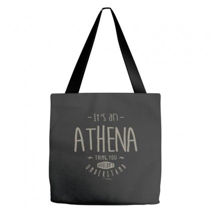 Is Your Name, Athena. This Shirt Is For You! Tote Bags Designed By Chris Ceconello
