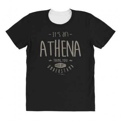 Is Your Name, Athena. This Shirt Is For You! All Over Women's T-shirt Designed By