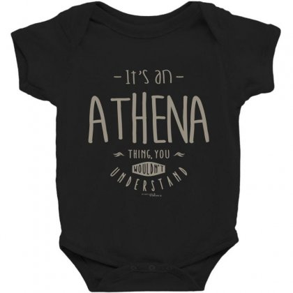 Is Your Name, Athena. This Shirt Is For You! Baby Bodysuit Designed By