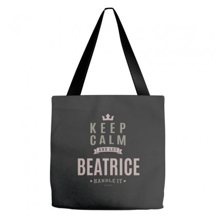 Is Your Name, Beatrice This Shirt Is For You! Tote Bags Designed By Chris Ceconello
