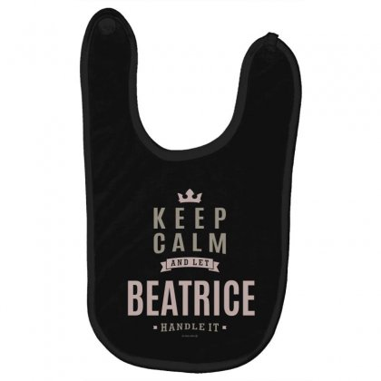 Is Your Name, Beatrice This Shirt Is For You! Baby Bibs Designed By