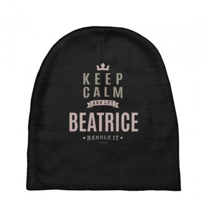 Is Your Name, Beatrice This Shirt Is For You! Baby Beanies Designed By