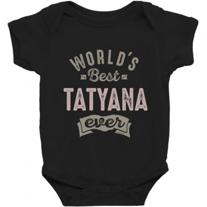 Is Your Name, Tatyana. This Shirt Is For You! Baby Bodysuit Designed By