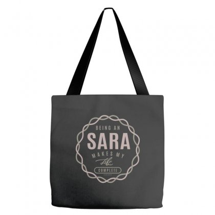 Is Your Name, Sara ? This Shirt Is For You! Tote Bags Designed By Chris Ceconello