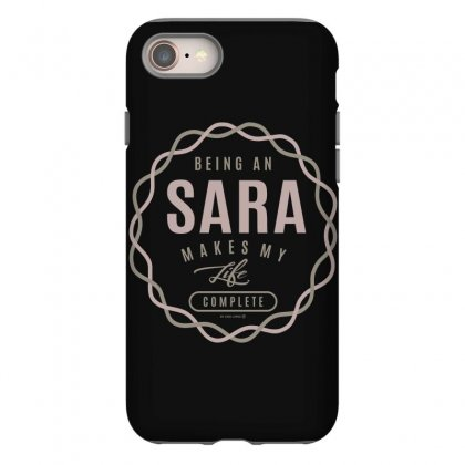 Is Your Name, Sara ? This Shirt Is For You! Iphone 8 Case Designed By