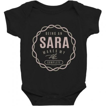 Is Your Name, Sara ? This Shirt Is For You! Baby Bodysuit Designed By