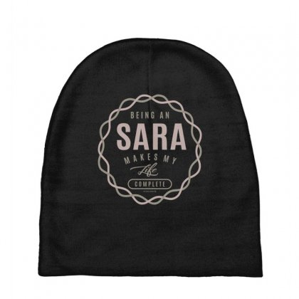 Is Your Name, Sara ? This Shirt Is For You! Baby Beanies Designed By