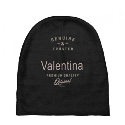 Is Your Name, Valentina ? This Shirt Is For You! Baby Beanies Designed By