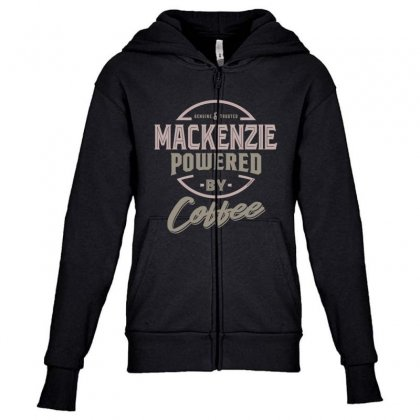 Is Your Name, Mackenzie? This Shirt Is For You! Youth Zipper Hoodie Designed By