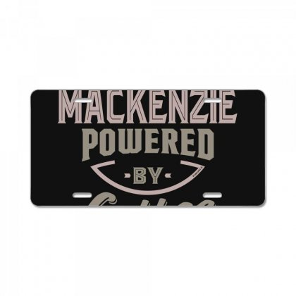 Is Your Name, Mackenzie? This Shirt Is For You! License Plate Designed By