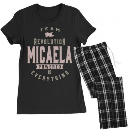 Is Your Name, Micaela? This Shirt Is For You! Women's Pajamas Set Designed By