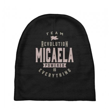 Is Your Name, Micaela? This Shirt Is For You! Baby Beanies Designed By