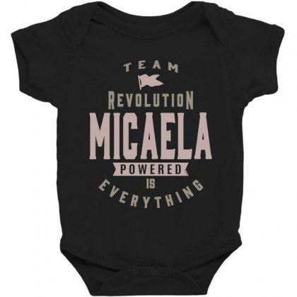 Is Your Name, Micaela? This Shirt Is For You! Baby Bodysuit Designed By