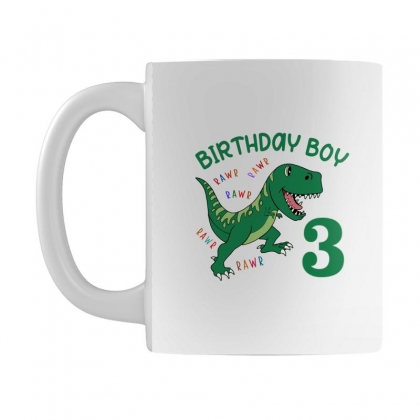 Birthday Boy 3 Mug Designed By Artees Artwork